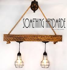 Industrial Rustic Lighting Buy A Hand Crafted Reclaimed Barn Beam Industrial Light Rustic