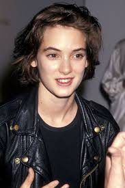 black bob hairstyles 1990 winona ryder best hair and makeup looks winona ryder old vintage