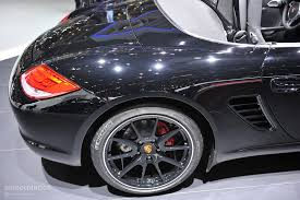 porsche boxster black edition geneva 2011 porsche boxster s black edition live photos