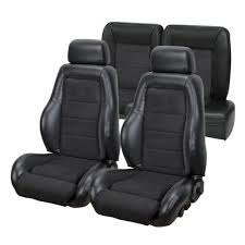 fox mustang seats mustang 03 04 cobra style upholstery with seat foam black vinyl