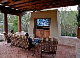 Build Outdoor Tv Cabinet Outdoor Tv Enclosure Ideas U2013 Take The Entertainment Outdoors