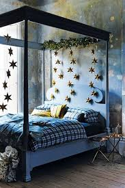 Bedroom With Stars Four Poster Bed With Stars Bedroom Ideas Houseandgarden Co Uk