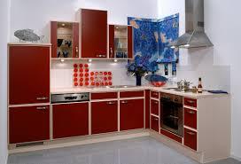 Kitchen Interior 3d Kitchen Interior Red Corner Cabinet Download 3d House