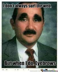 Eyebrows Meme - eyebrows by wolf798 meme center