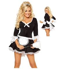 new arrival french maid cosplay costume for girls cute