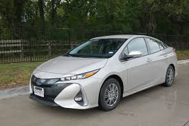lexus hs 250h uber 2017 toyota prius prime real world gas mileage electric range review