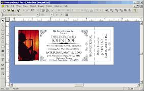 11 best images of event ticket with stub template blank concert