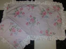 simply shabby chic misty rose simply shabby chic misty rose pink white standard size 2 pillow