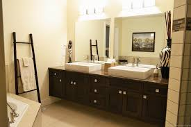 mahogany bathroom mirror bathroom mirror ideas on wall rectangular white stained wooden