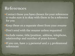 to write a good resume you need to know why you have to have one
