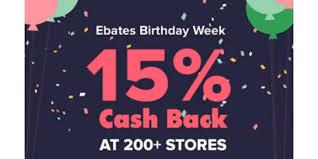 target black friday ebates ebates 15 cash back deals kohl u0027s staples macy u0027s and more