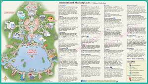 Disney World Epcot Map Food And Wine Disneyways