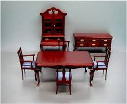 Dollhouse Dining Room Furniture Dollhouse Diningroom Furniture From Fingertip Fantasies Dollhouse