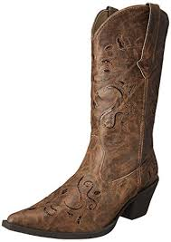 roper womens boots sale amazon com roper s snippy glitter boot shoes