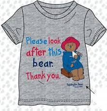 paddington clothes official paddington t shirt childrens boys kids 3 4 5 6