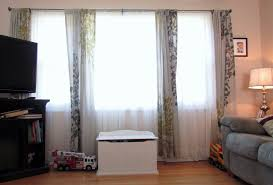 Window Treatment For Bow Window Curtain For Large Windows