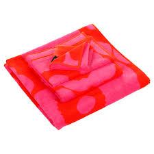 Marimekko Unikko Duvet Buy Marimekko Unikko Towel Red Pink Amara
