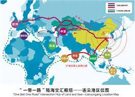 Silk Road Map 3rd China Lianyungang Silk Road International Logistics Expo