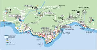 Milano Italy Map by Directions Varenna Italy