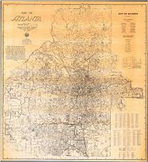 Map Of Atlanta Atlanta Shape Change And Automobile Atlanta U0027s Motoring Suburbs