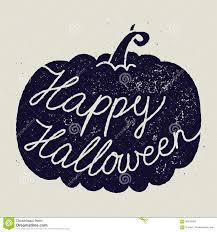 happy halloween calligraphy sign stock illustration image 60642687