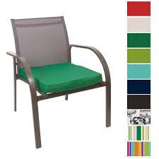 Garden Chair Seat Cushions Jumbo Large Waterproof Water Resistant Outdoor Cushion Garden