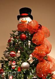 snowman tree epbot orlando festival of trees 2014