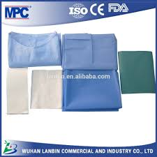 china hubei sterile medical drapes ce standard disposable hospital