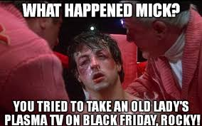 Funny Black Friday Memes - the internet meme and rocky too funny silver screen artists