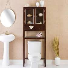Pedestal Toilet Bathroom Bathroom Over The Toilet Cabinets 2017 Ideas Bathroom