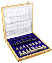 rajasthan stone art unique chess sets and board box small 25 4 x