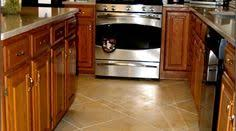 Ceramic Tile Kitchen Countertops by Gray Tile Kitchen Floor With White Cabinets Google Search