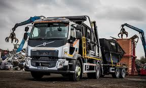 volvo truck fl maxilead metals go light and heavy with fl drawbar skiploader and
