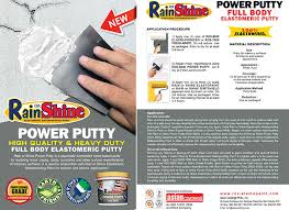or shine power putty 4liters timeclockshopping