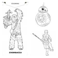 coloring pages u0026 star wars the force awakens trailer u2013 the