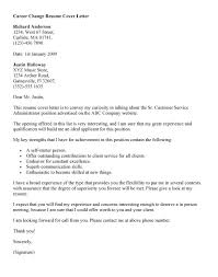 Resume Cover Letter Examples Management by Fancy Career Change Cover Letter Sample 15 Example Management