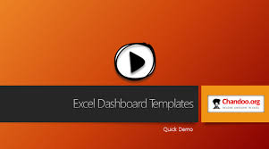 Free Excel Dashboards Templates Excel Dashboard Templates Now Chandoo Org Become