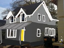 Exterior House Paint Schemes - kristen f davis designs choosing our exterior house paint colors