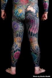 japanese back tattoo by horiyasu tattoo
