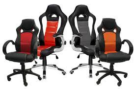 chaise de bureau racing race car style office chairs up to 48 offered on tuango ca