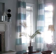 White And Blue Curtains Striped Linen Curtains Linen Premium 100 Linen Curtains