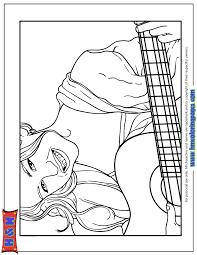 hannah montana playing guitar coloring u0026 coloring pages