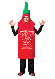 sriracha bottle kids sriracha costume