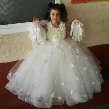 flower girl dresses lovely sleeveless princess floor length a line wedding flower
