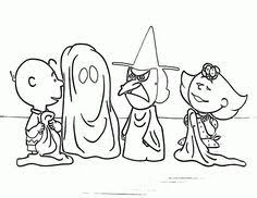 printable halloween coloring pages peanuts halloween cartoon