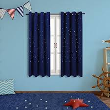 Kids Curtains Amazon Amazon Com Twinkle Star Kids Room Curtains 2 Panels Anjee