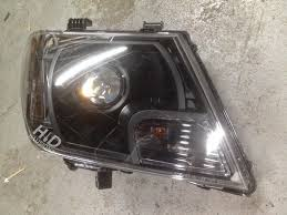 nissan frontier hid headlights hid illusionz nissan frontier morimoto mini h1 gatling gun xb led