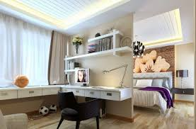 computer desk with shelves white decorations chic home office space decor with corner white modern