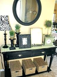 accent table for foyer small foyer table theminamlodge com