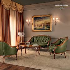 Classic Chesterfield Sofa by Chesterfield Sofa Wooden 2 Seater Green Villa Venezia